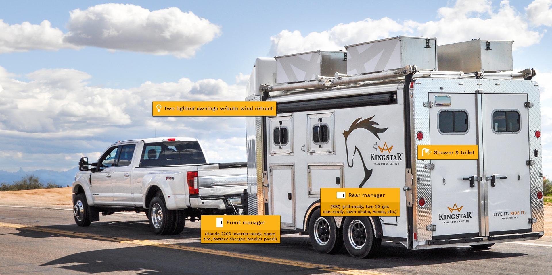 Horse trailer callouts