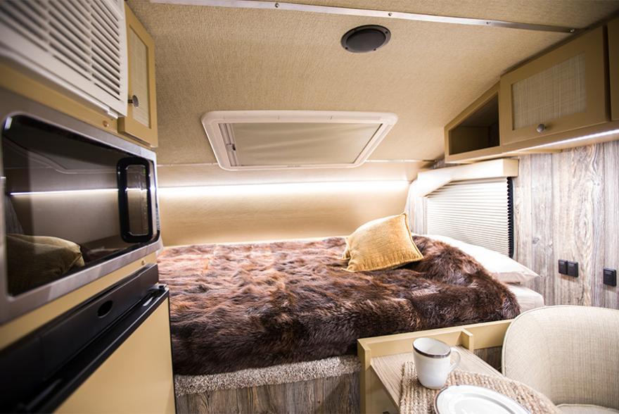Camper bed